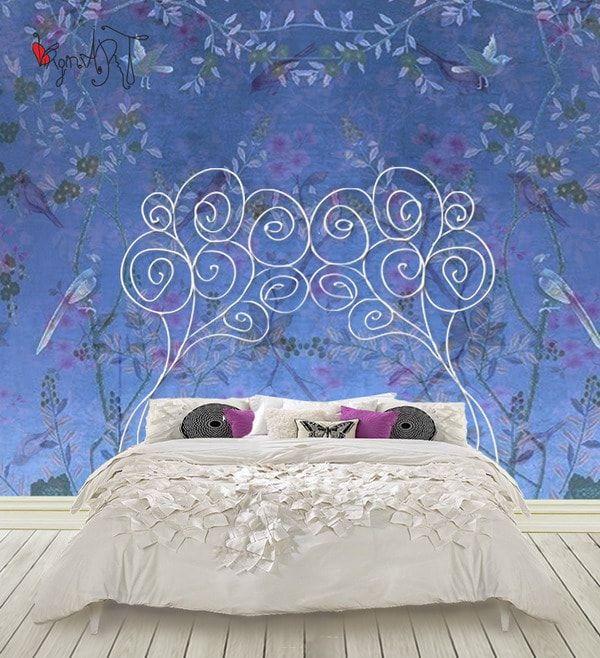 Muebles de forja art stica cabecero camas y hierro - Cabeceros de cama de hierro ...