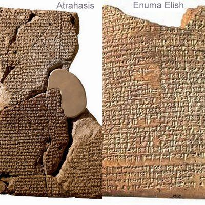 a comparison of genesis and the enuma elish creation story Both enuma elish and the first creation story of genesis are creation stories, so many parallels may be seen between the two the first similarity between enuma elish and the first creation story of genesis is the description of the earth.