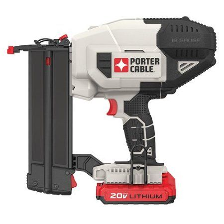 Porter Cable Pcc790la 20v Max Lithium Brad Nailer Kit Amazon Com With Images Porter Cable Porter Cable Tools Brad Nailer