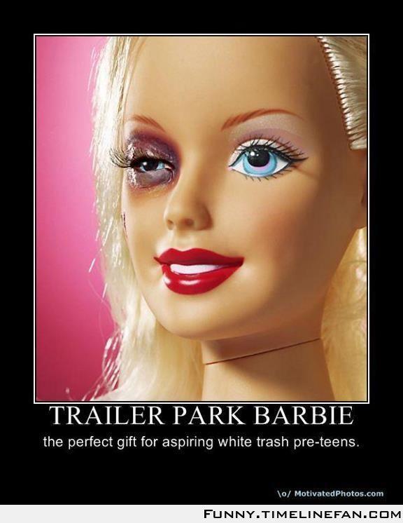 Tralier Park Barbie | Funny | Pinterest | Parks and Barbie