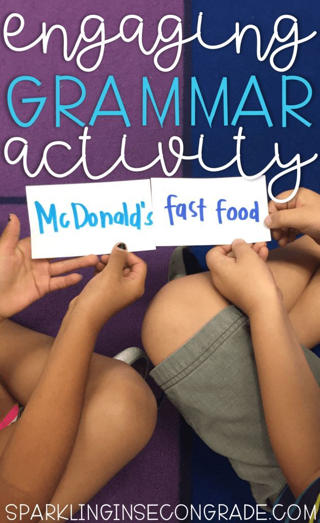 Need a grammar activity that gets your kids up & learning? This activity was first used for common and proper nouns, but can be used for any grammar skill!