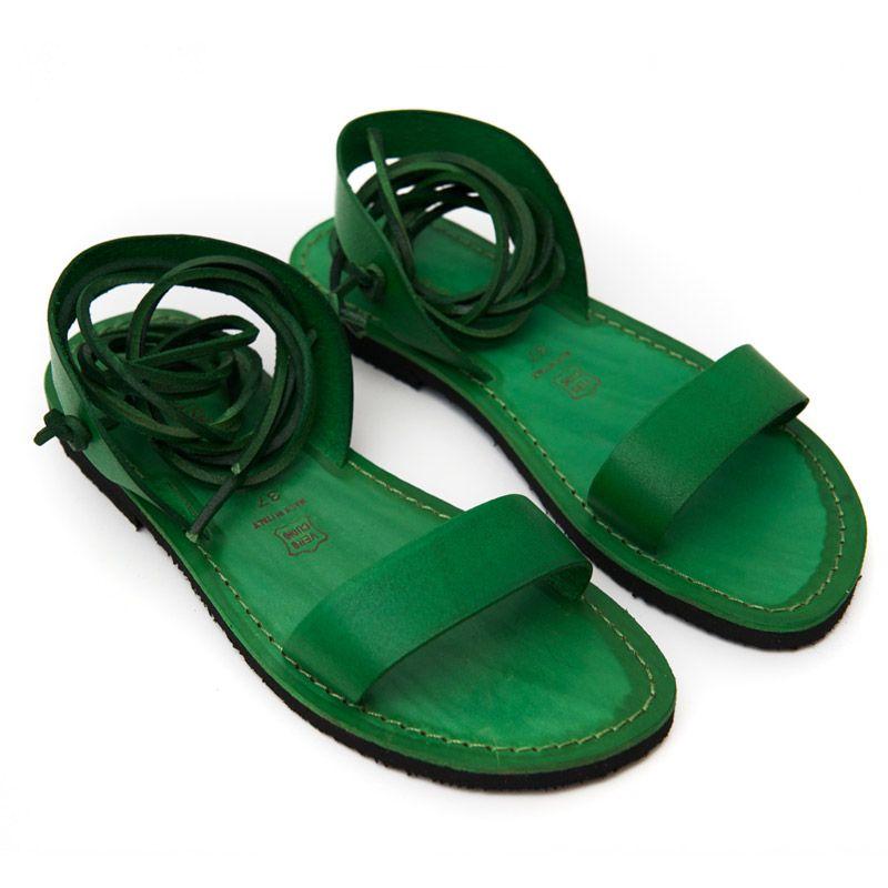 bdd22b84a808 Want this green sandals. Sandalo martignano verde da donna