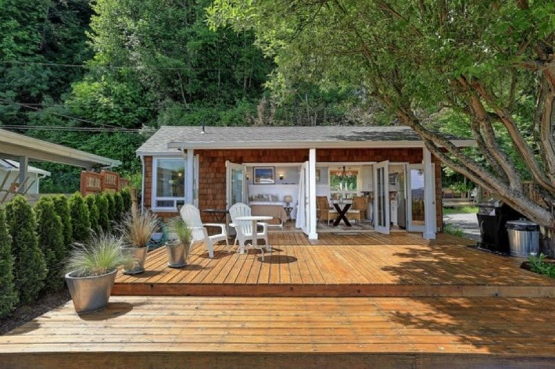 Tiny Houses And Shipping Container Homes Tiny Beach House Small