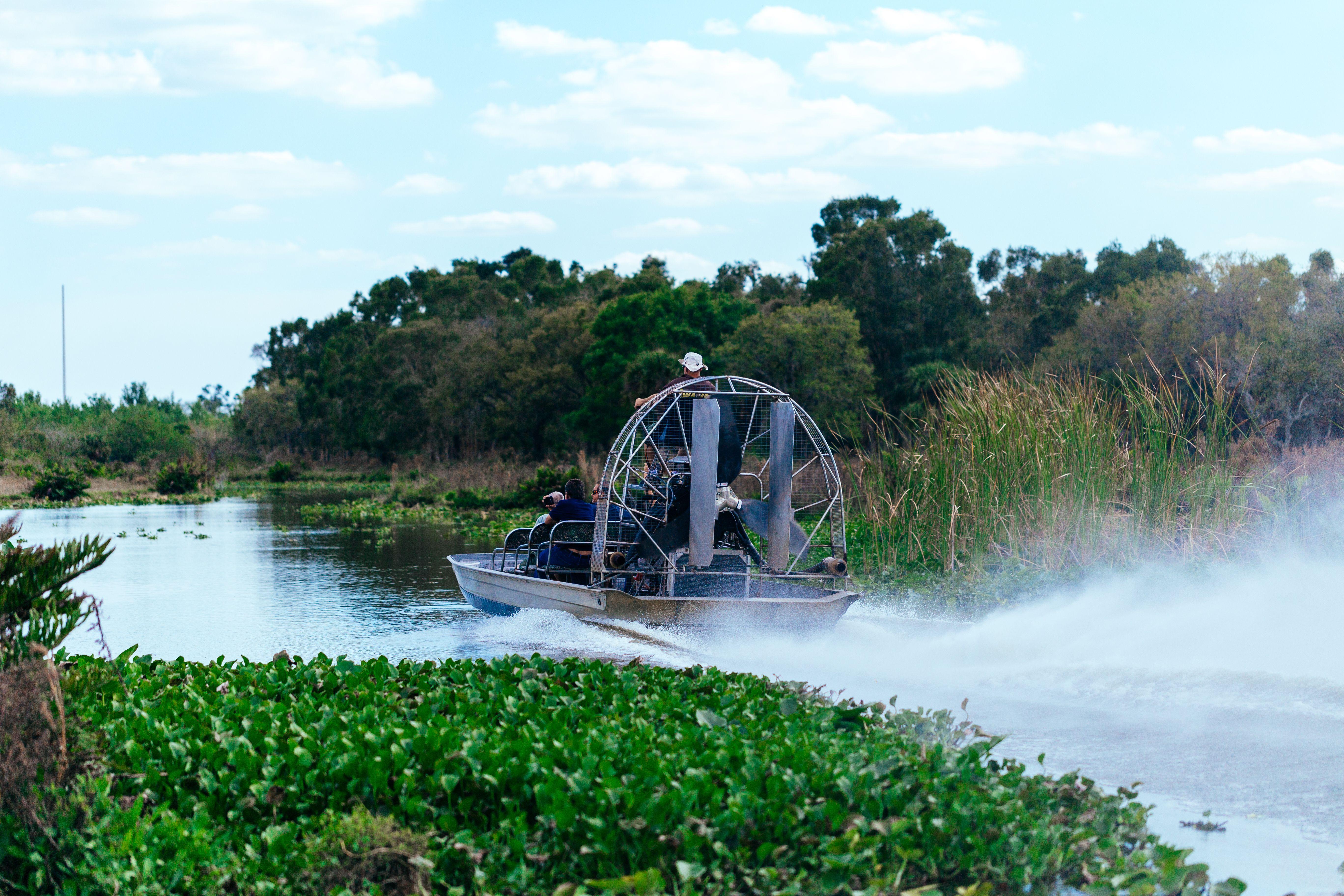 Everglades boat ride