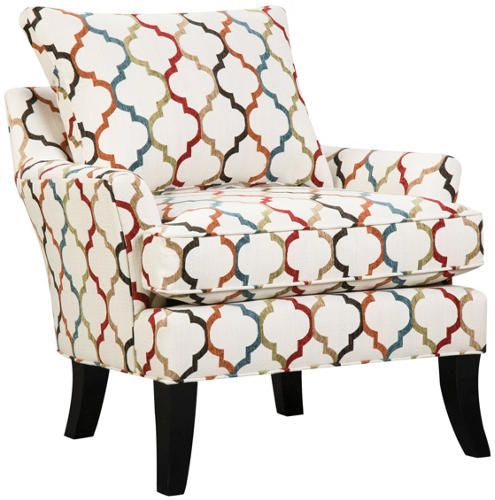 Suede So Soft Murphy Accent Chair Is Upholstered In An Overall