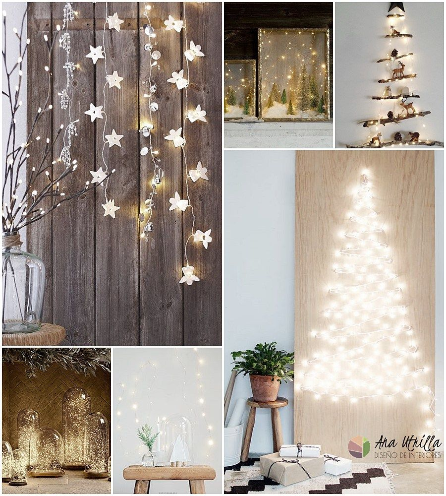 Luces de navidad, utiliza luces como iluminación auxiliar en tu ...