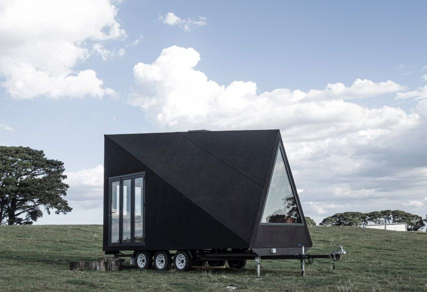 Studio Edwards designs Base Cabin as minimal house on