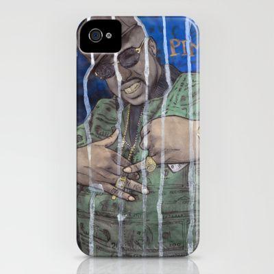 DEAD RAPPERS SERIES - #Pimp C iPhone Case by Ibbanez - $35.00