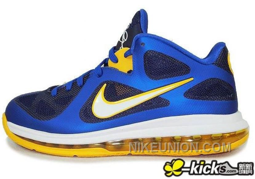 free shipping ffbc2 c563b Buy Lebron James 9 Low Shoes Entourage Game Royal University Gold Mid Navy  510811 402 Online from Reliable Lebron James 9 Low Shoes Entourage Game  Royal ...