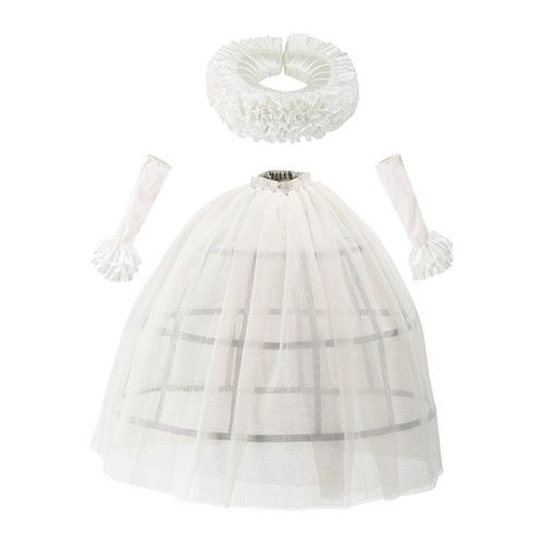 IKEA - LATTJO, Queen costume, Encourages role play which helps children to develop social skills by imitating grown-ups and inventing their own roles.One size fits all, both children and adults.