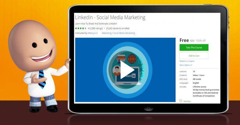 100% Off] Linkedin - Social Media Marketing