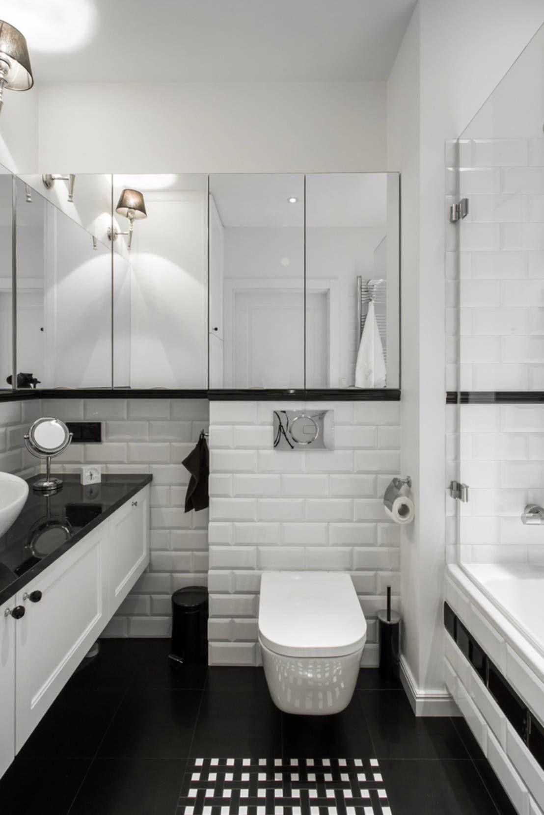 Mała łazienka z wanną - 10 inspiracji | Wnętrze łazienki ...