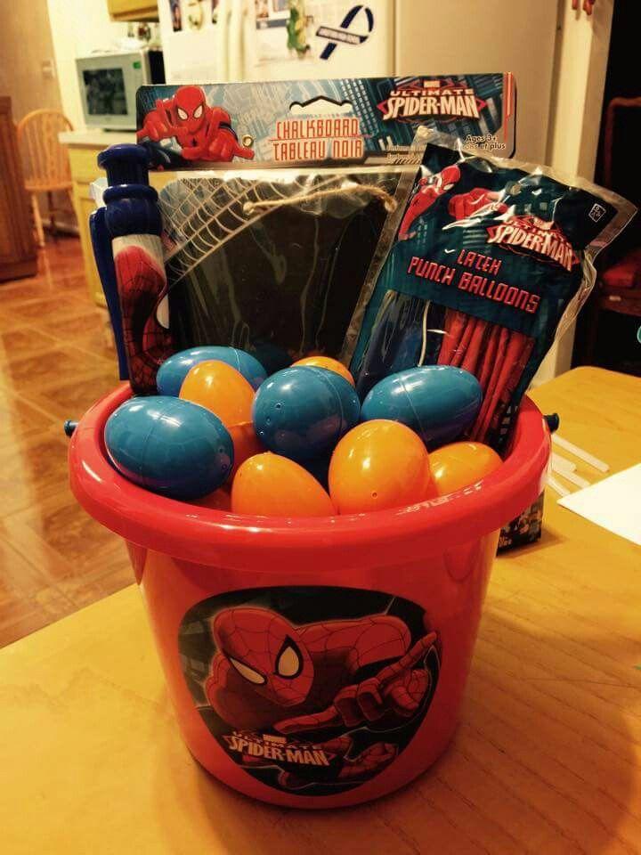 Spider man easter basket holidays and crafts pinterest spider man easter basket negle Choice Image