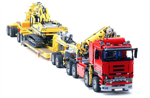 lego technic 8258 trailer lego lego lego spielzeug et. Black Bedroom Furniture Sets. Home Design Ideas