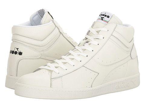mens shoes diadora game waxed white