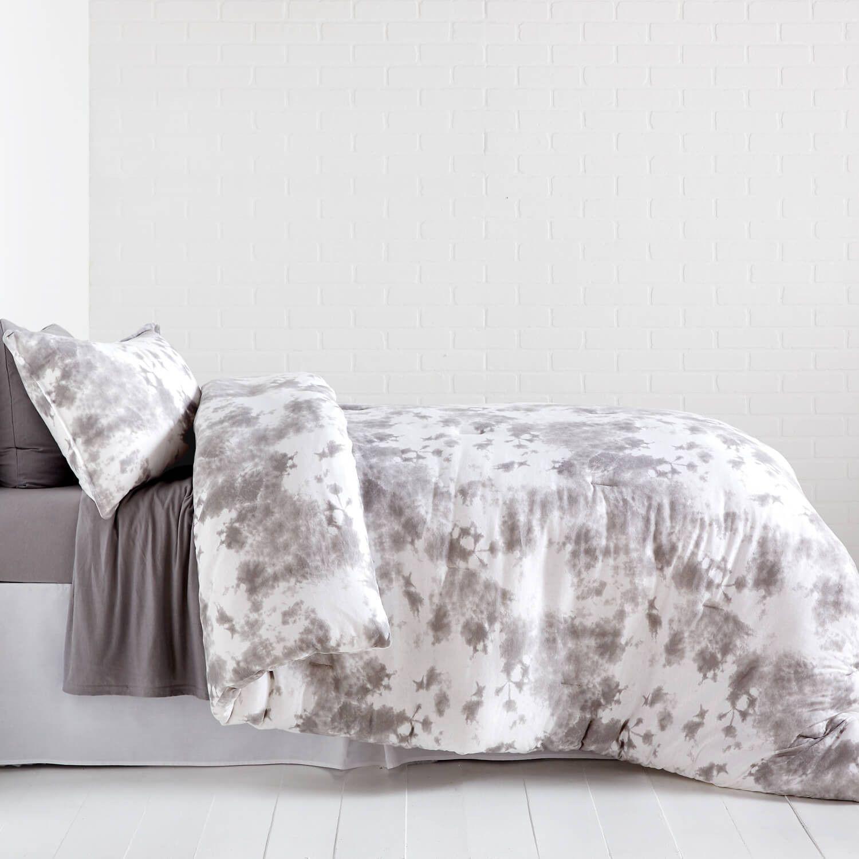 Tie Dye Jersey Comforter And Sham Set Twin Xl Tie Dye Bedding