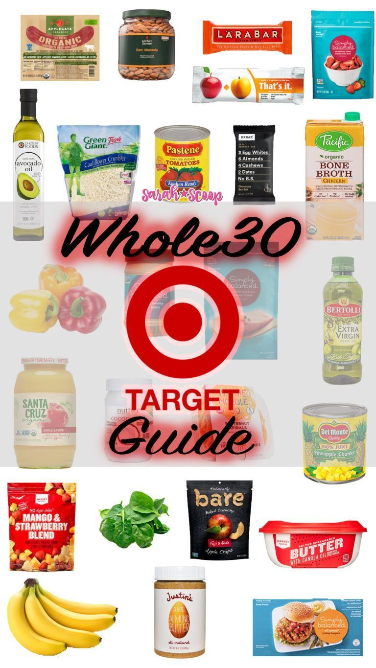 Whole 30 Target Shopping Guide - Sarah Scoop#guide #sarah #scoop #shopping #target #whole