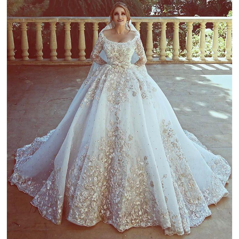 20 Of The Most Stunning Long Sleeve Wedding Dresses Chic: Robe De Mariee Libanaise