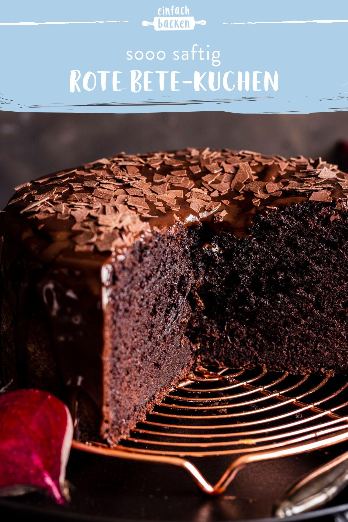 Rote Bete Kuchen Rezept In 2020 Einfach Backen Kuchen Ohne Backen Und Kuchen Und Torten