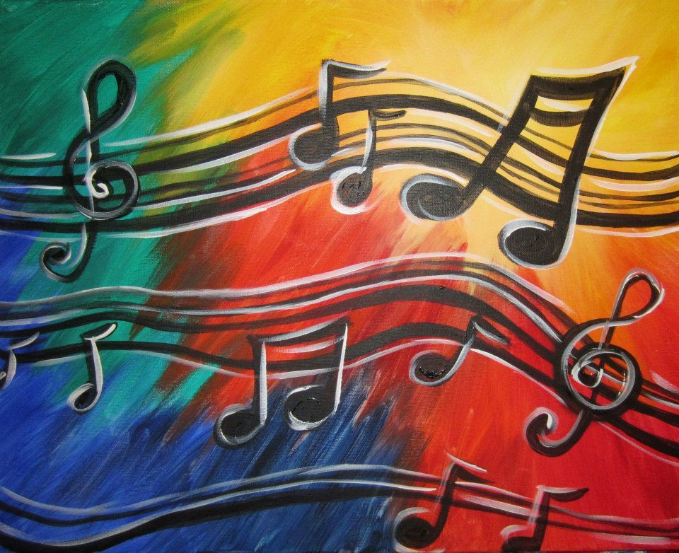 Find Your Next Paint Night (With images) | Music painting canvas ...