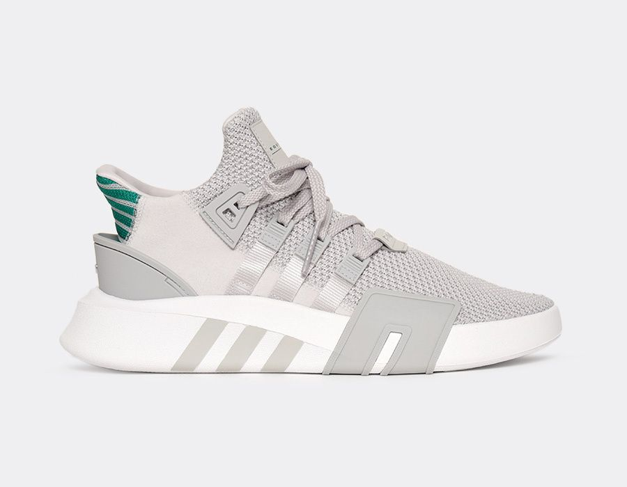 lowest price 83951 dcb99 EQT Bask ADV - Grey OneSub Green
