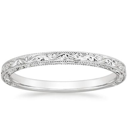 18k White Gold Hudson Ring From Brilliant Earth Antique Wedding Rings Wedding Rings Vintage Platinum Wedding Rings