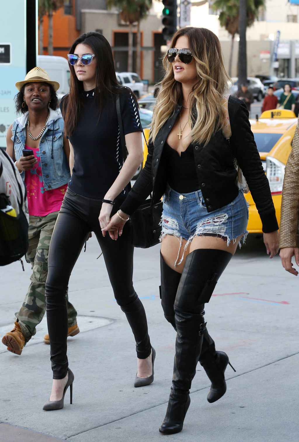1aa938c2f71 Khloe Kardashian and sister Kendall Jenner took Scott Disick to watch Rick  Ross in concert