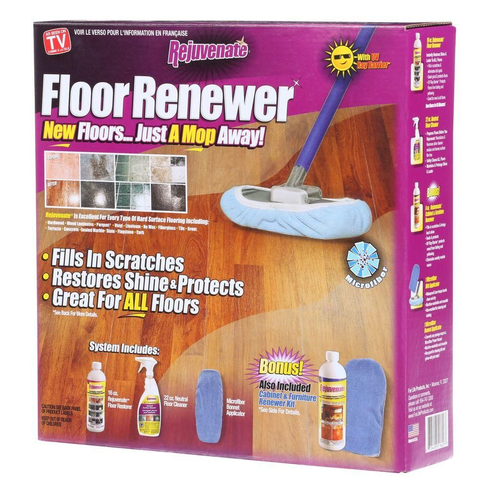 Rejuvenate 16 oz. Floor Renewer System in 2020 Flooring