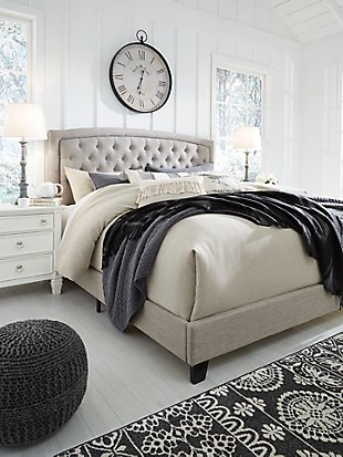 Jerary Queen Upholstered Bed Upholstered beds, Queen
