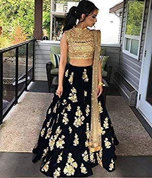 ed42c16f53 Amit Fashions indio Lehenga Choli: Amazon.es: Ropa y accesorios ...