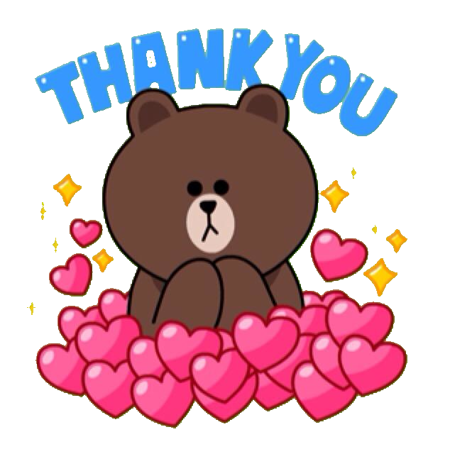 LINE STICKERS CRAZE Brown You From And Line Sticker