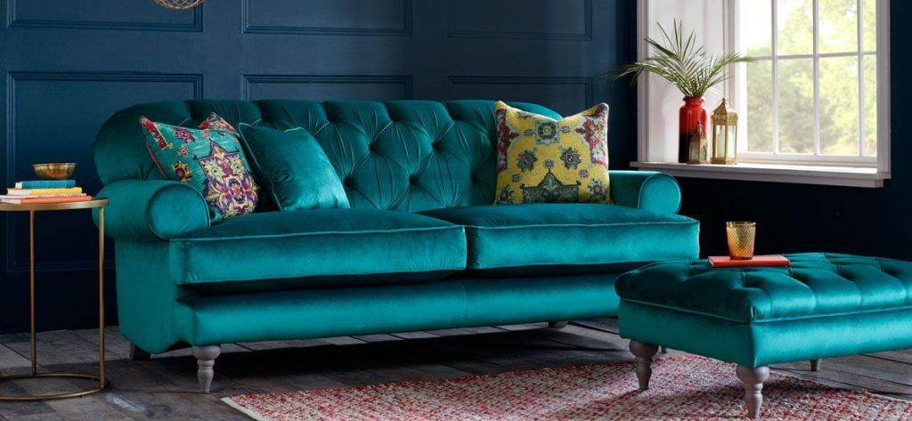 What Is Teal And How To Use It In Interior Design Homesthetics Inspiring Ideas For Your Home Teal Couch Living Room Teal Sofa Living Room Teal Velvet Sofa #teal #sofa #living #room
