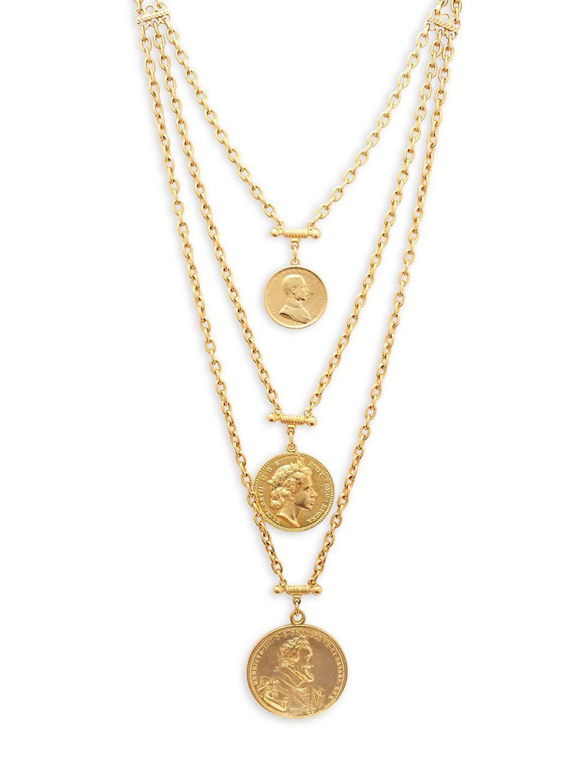 ben amun coin necklace