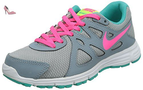 big sale 2cadf 3eb61 Nike Revolution 2 Gs Chaussures GrisBleuRoseBlanc multicolore Grigio   Blu