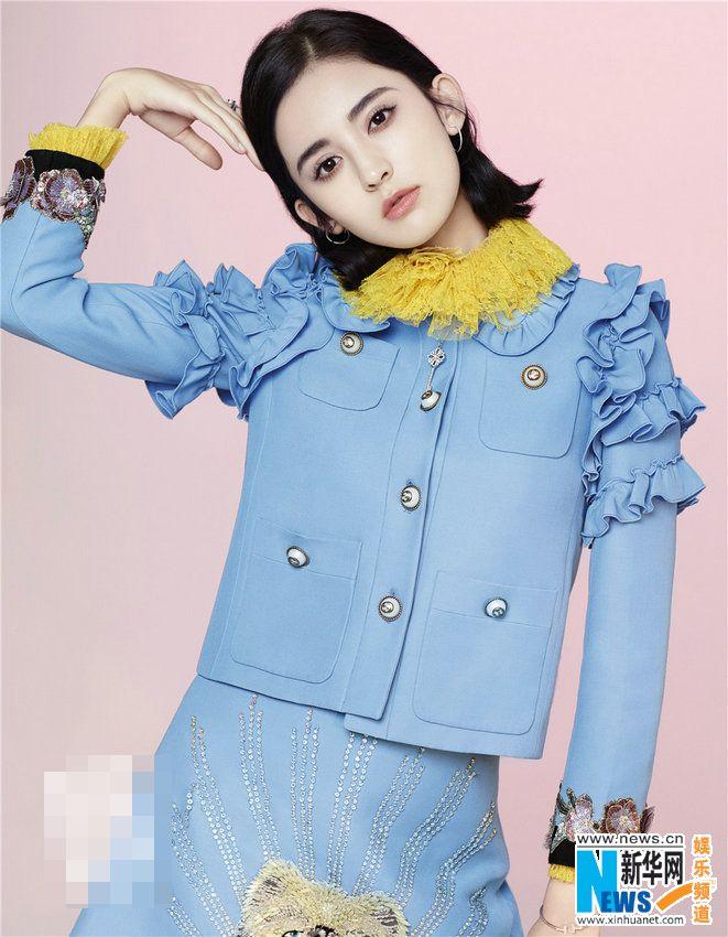 Actress Guli Nazha  http://www.chinaentertainmentnews.com/2017/01/guli-nazha-poses-for-fashion-magazine.html