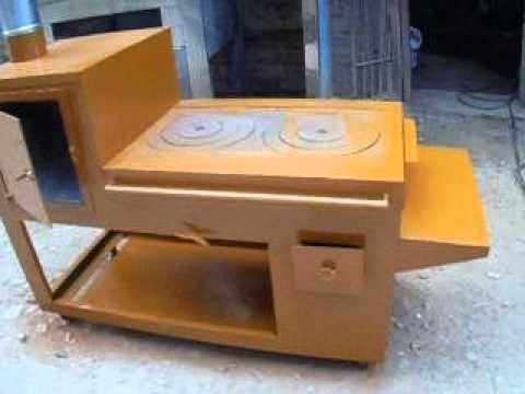 Cocina mejorada port til con horno youtube estufas y - Estufa con horno ...