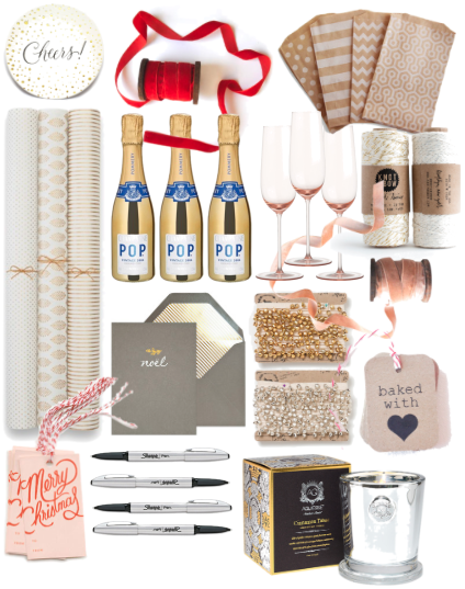 Host a gift wrapping party