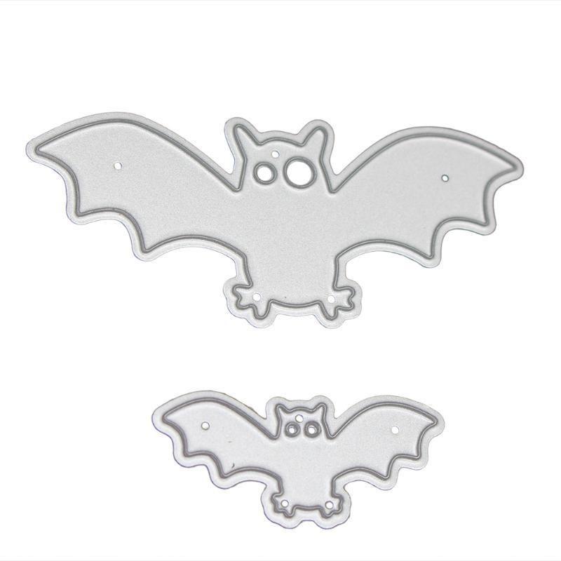 Halloween Bat Border Metal Cutting Dies Embossing Scrapbook DIY Album Stencils·
