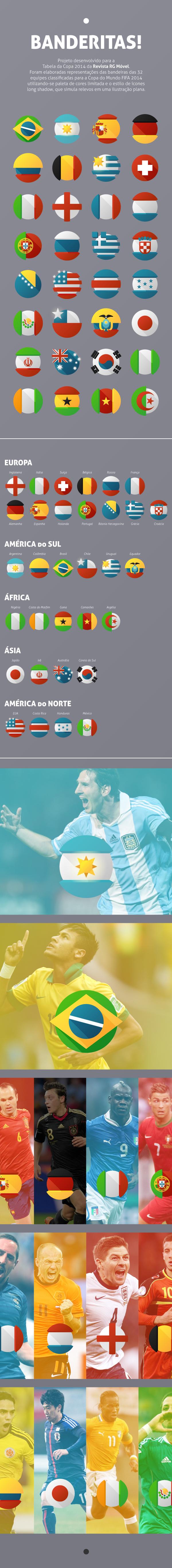 Banderitas On Behance Art World Soccer Players World