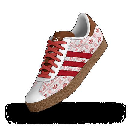 adidas mi Gazelle Custom Shoes. size 8