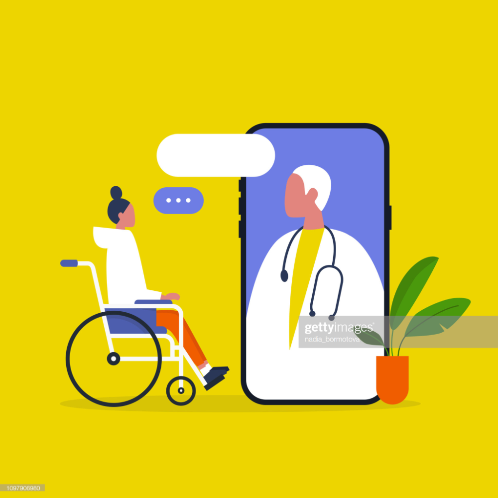 Doctor Appointment Online Consultation Modern Healthcare Technology Wallpaper Medicine Illustration Healthcare Technology