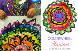 Great website for grade specific art lessons. Color wheel, holiday & so much more!