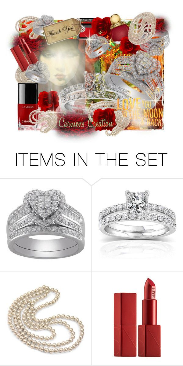 """""""Journi's Diamonds and Pearls Art"""" by carmen-ireland ❤ liked on Polyvore featuring art"""