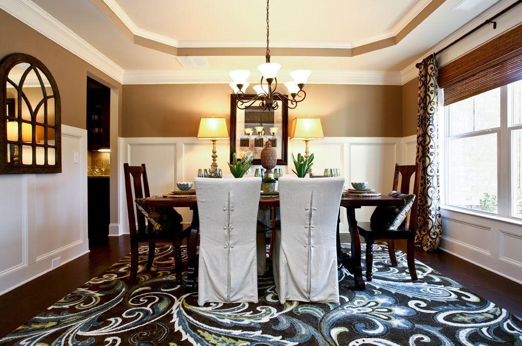 Stonemill Creek Lochstone Dining Room Luxury homes in