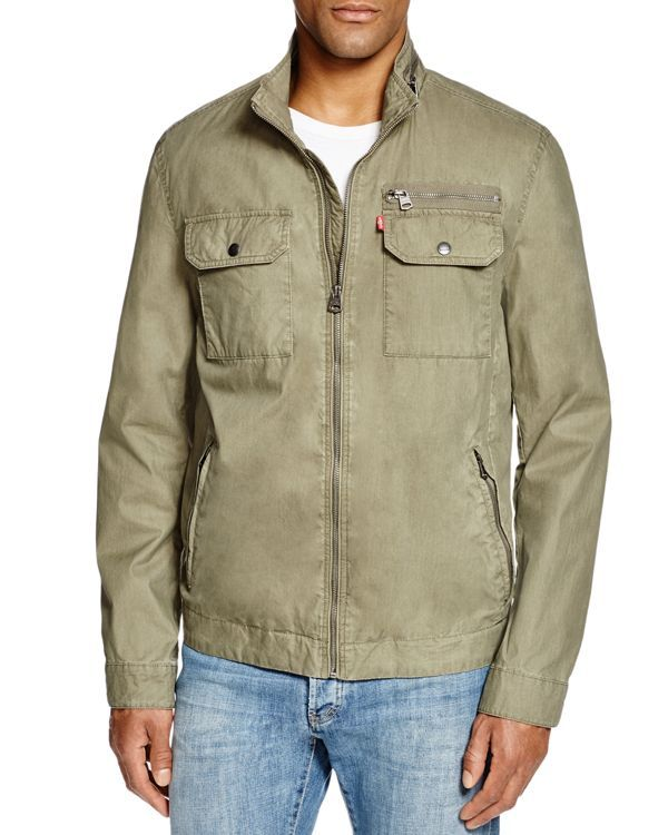 Levi's Military Zip Jacket - Compare at $180