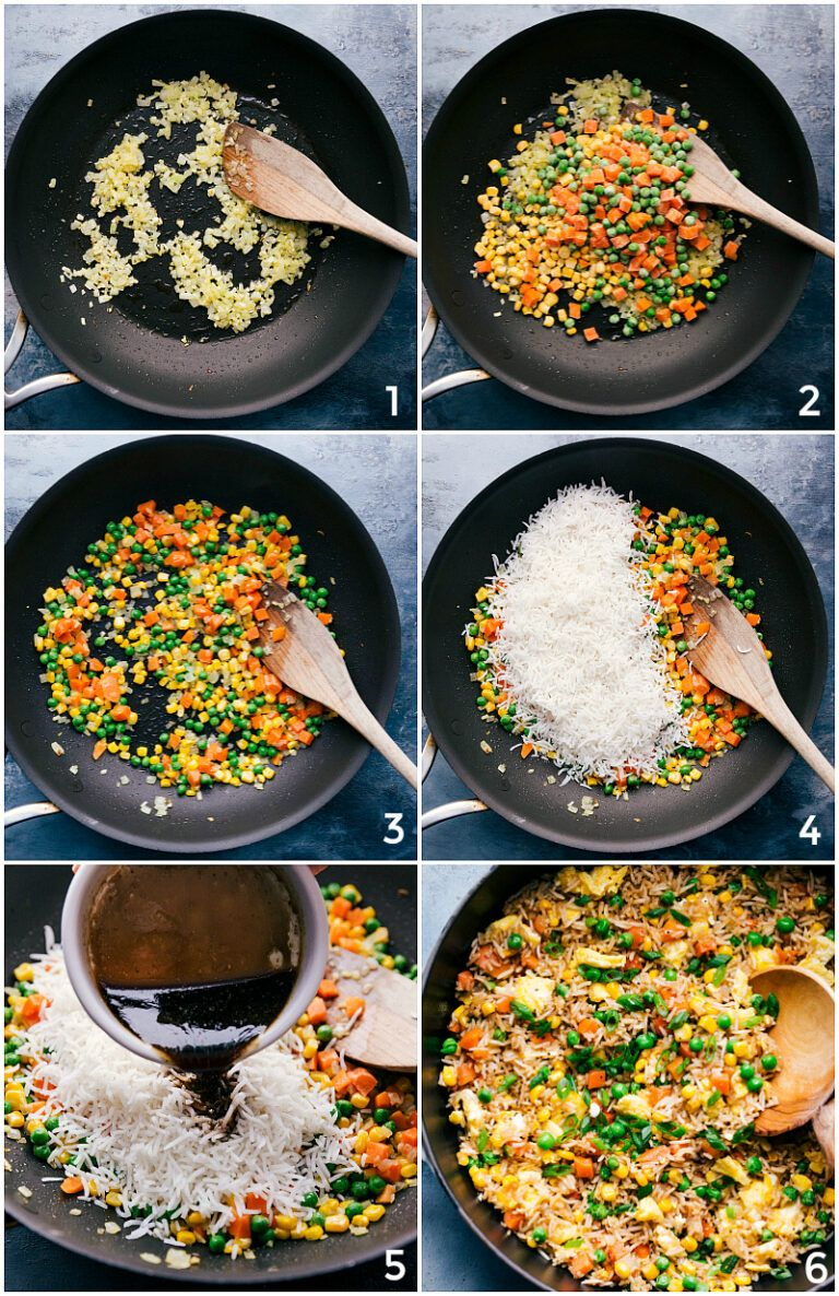 Fried Rice {Ready in 20-Minutes!} | Chelsea's Messy Apron
