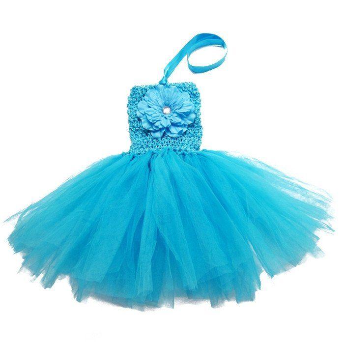NewBorn baby tutu dress Baby Girls Sweet Wedding Party Tutu Dress Baby boutique Tutu Pettiskirt