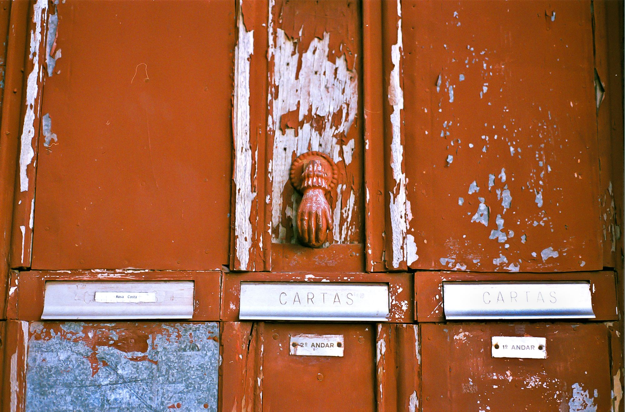 Door knocker, Braga, Portugal