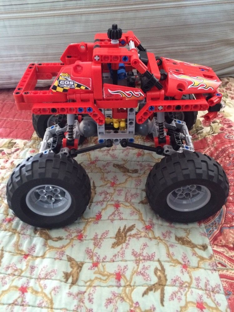 Lego Technic 42005 Monster Truck Retired eBay Monster