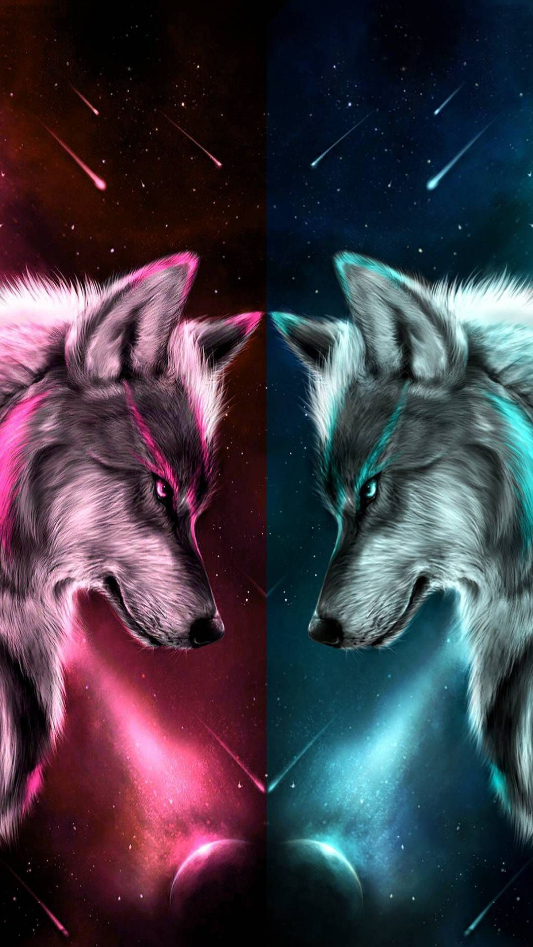 Fantasy Anime Wolf Background Cute Animal Drawings Wolf Spirit Animal